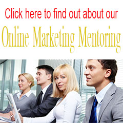 Online marketing mentoring