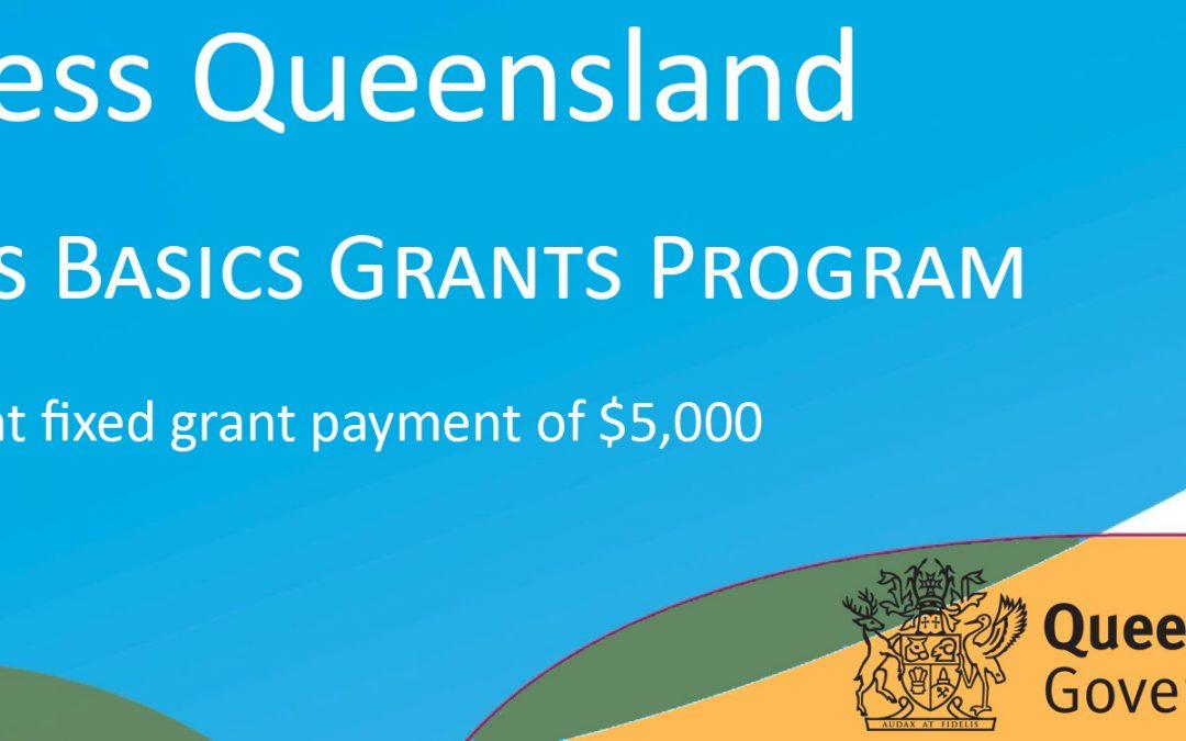 Business Queensland : Business Basics Grants Program